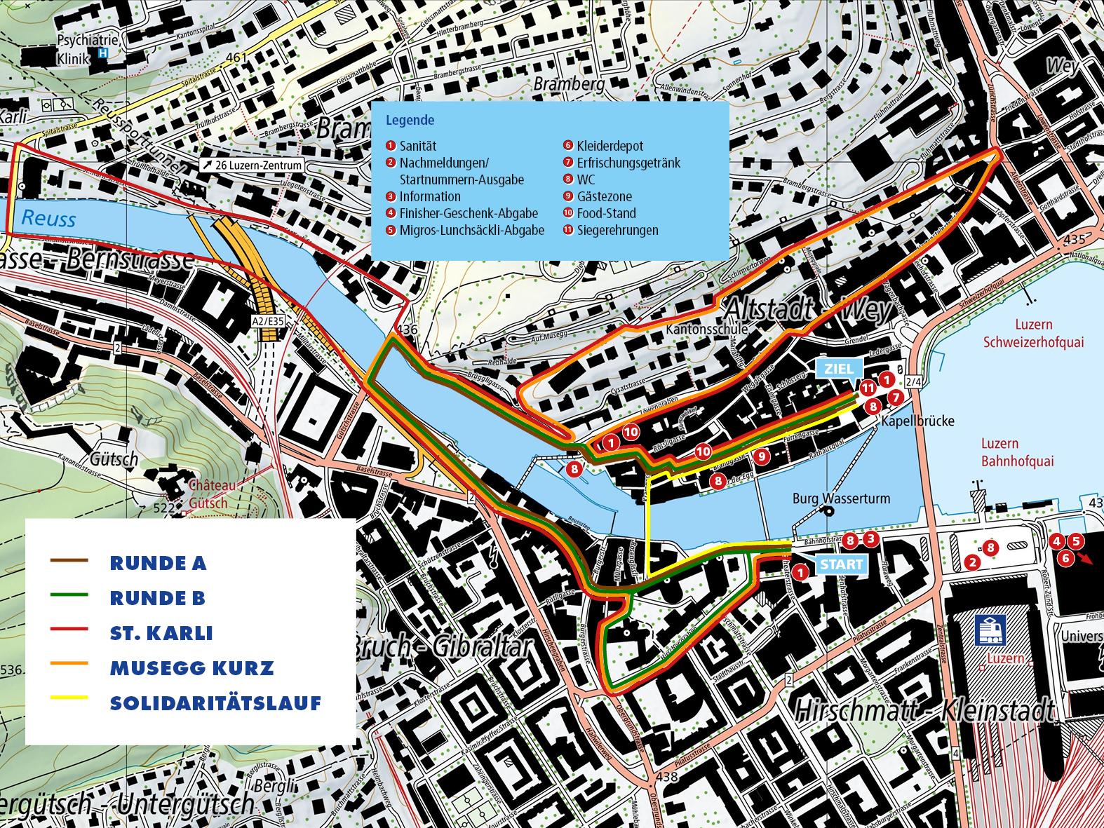 Streckenplan 2021